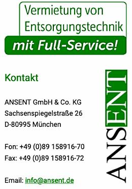 ANSENT GmbH & Co. KG, Sachsenspiegelstraße 26, D-80995 München